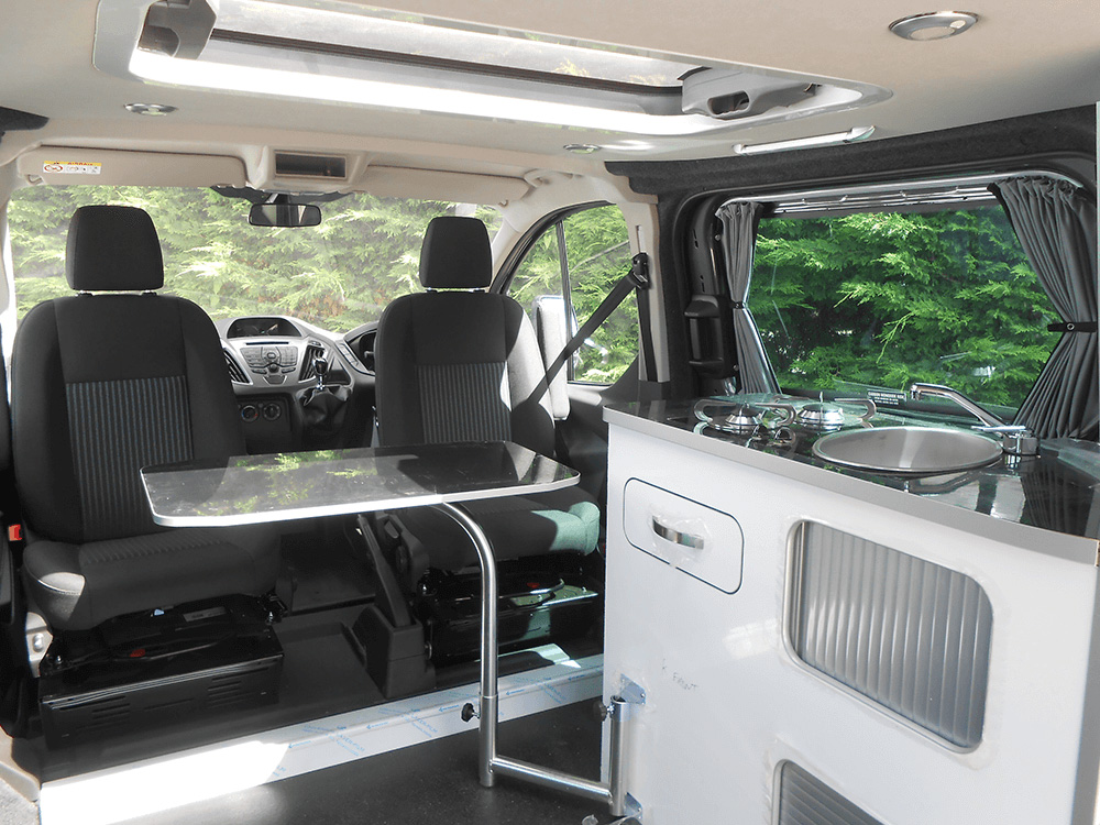Leisure Van furniture colour white