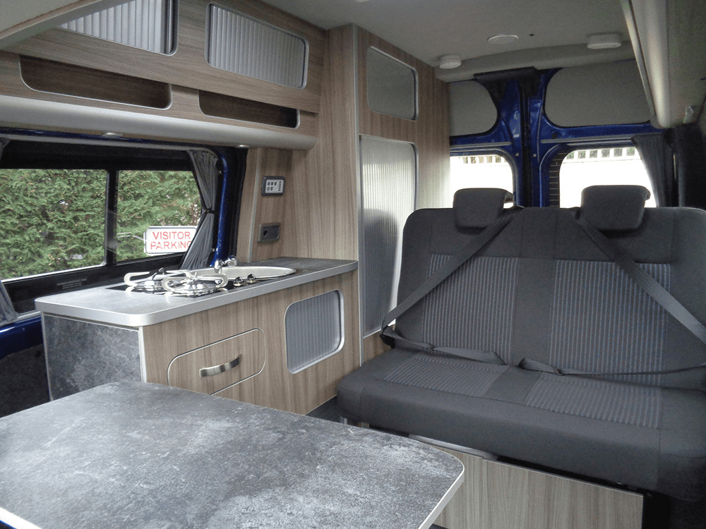 Leisure van furniture colour driftwood
