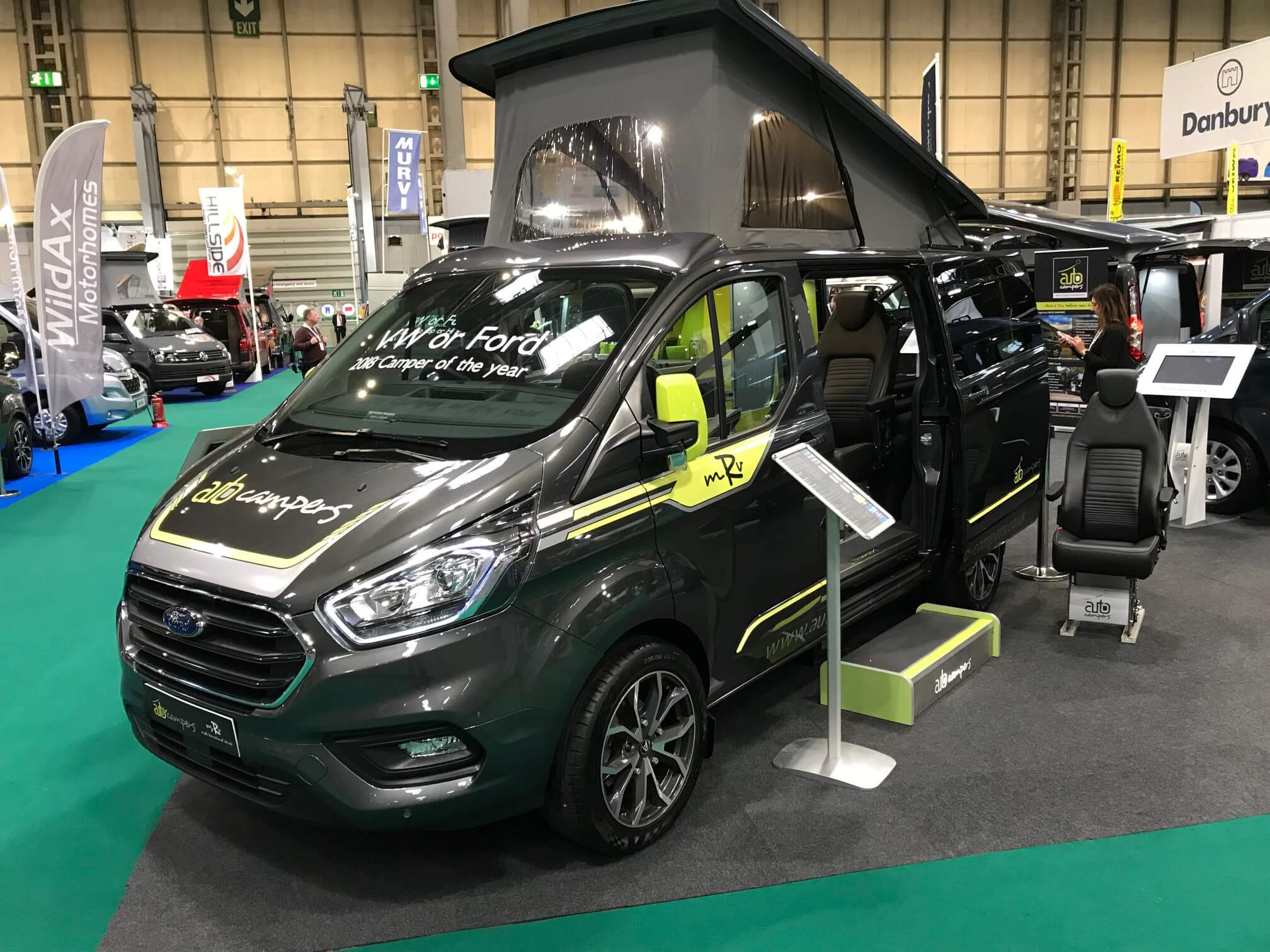 Auto Campers at the NEC